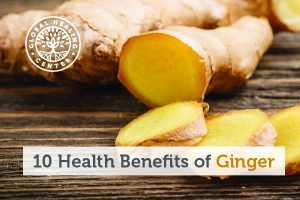 A pile of sliced ginger. One of the many health benefits of ginger is that it helps protect the digestive tract.