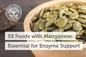Pumpkin seeds are one of the top foods with manganese.