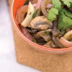 Spicy Mushroom Stir Fry Recipe with a Savory Twist