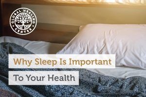 A relaxing bed. Sleep is important because proper rest is needed for your morning elimination cycle to be healthy.