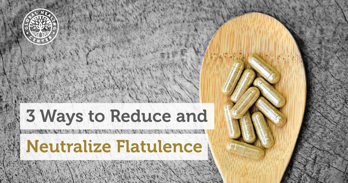 3 Ways To Reduce And Neutralize Flatulence