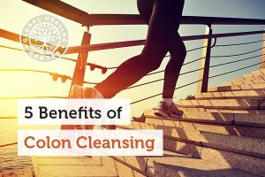 A person is running. Benefits of colon cleaning include increased concentration and energy.