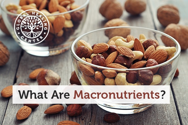 Macronutrients include protein, carbohydrates, and lipids