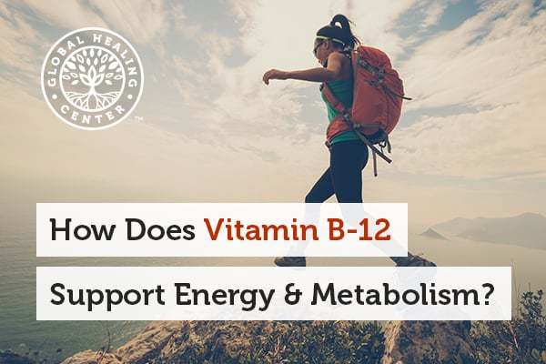 Vitamin B12 has a blend of methylcobalamin and adenosylcobalamin, which helps support energy and metabolism.