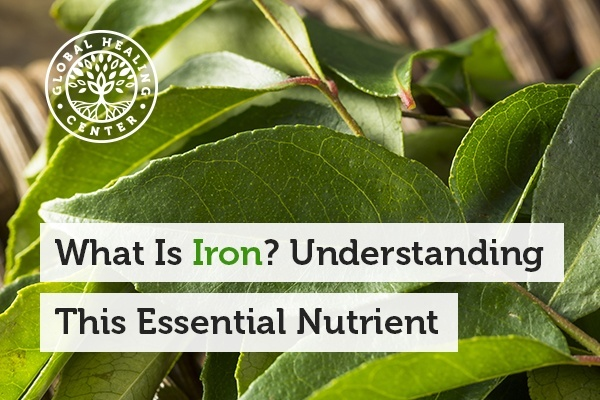 A green plant that contains iron. Iron is an essential mineral that your body requires to function properly.