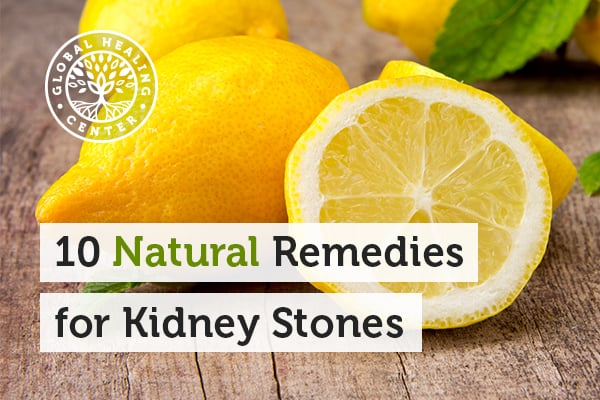 Organic Lemon Juice Is a Great Remedy for Kidney Stones