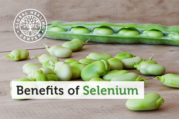These fresh lima beans are a great source of selenium, an essential mineral with many benefits to your body.