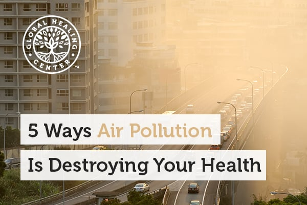 Cars and trucks are the leading cause of air pollution which can cause a lot of health concerns.