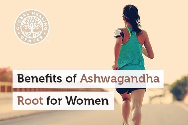 A woman in deep thoughts. Ashwagandha root produces many benefits for women such as graceful aging, energy, and sexual health.
