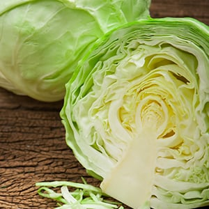 Cabbage Recipe with Lemon-Garlic Cashew Dressing