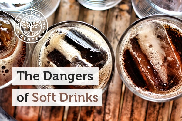 Soft drinks contains many toxins that can be harmful.