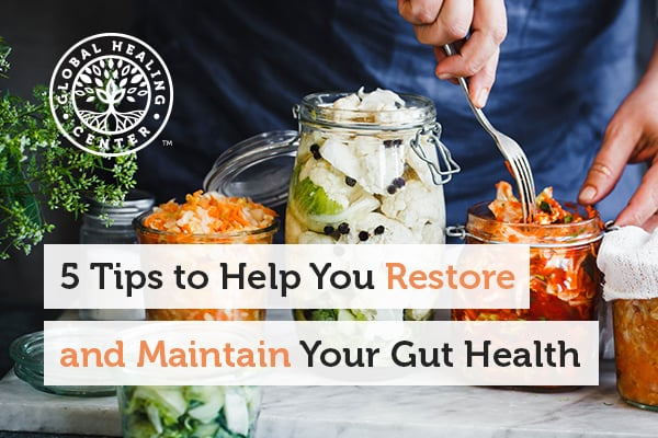 Adding fermented foods like yogurt to your diet is a great way to maintain your gut health.