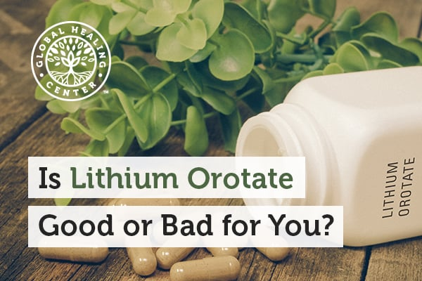 Lithium Orotate is not a drug at all; it's actually a mineral and part of the sodium and potassium family.