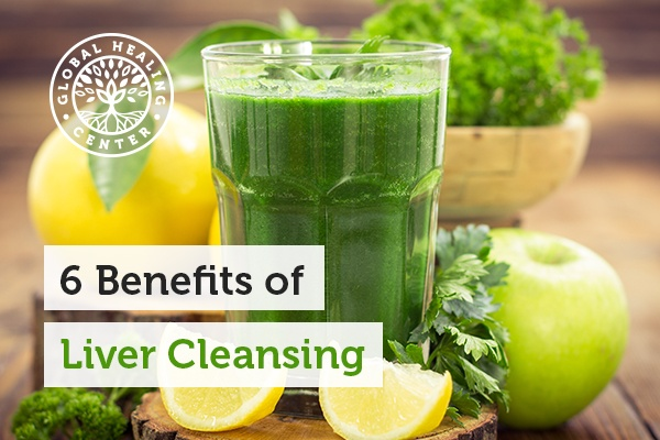 A glass of liver cleansing juice. Many people ignore liver cleansing, but there are some benefits linked with the practice.