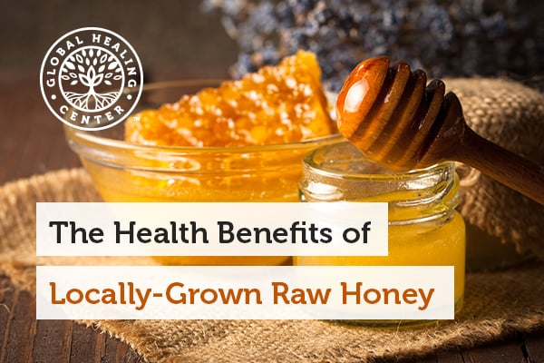 Local, raw honey is beneficial because it contains immune stimulation properties that are also good for the environment.