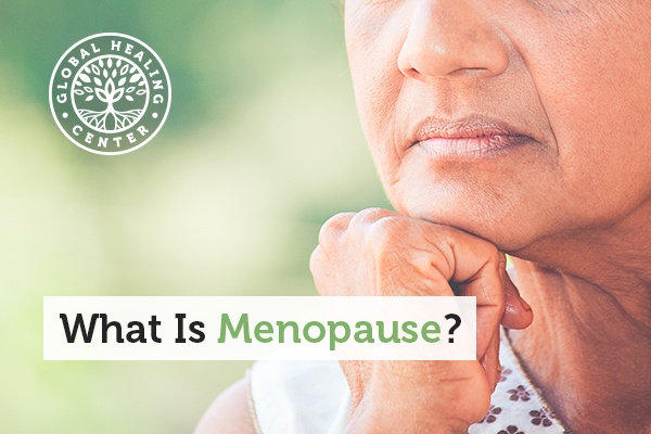 An elderly woman thinking. One of the most difficult issues some women face during menopause is a loss of libido and hot flashes.