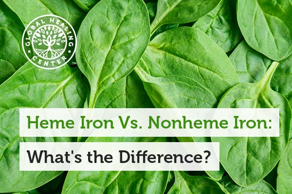 Nonheme iron is sourced from healthier foods than Heme iron