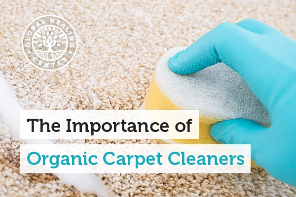 Organic carpet cleaners are safer on the carpet and for the environment.