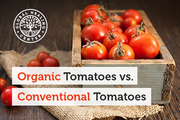 Studies Show that organic tomatoes contain higher levels of phenolic compounds than conventional tomatoes.