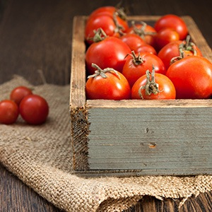 Locally-Grown Tomatoes