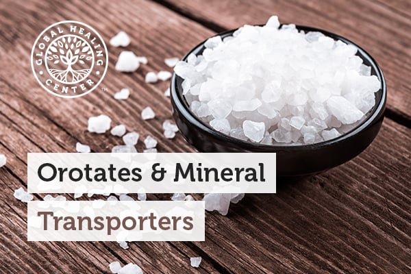 Orotates and mineral transporters can be quite beneficial to your health