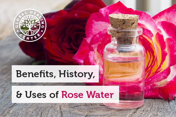Rose Water is Great for toning and hydrating the skin.