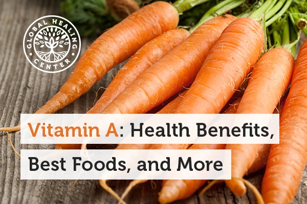 Vitamin A in carrots can help with good vision and also help support the immune system.