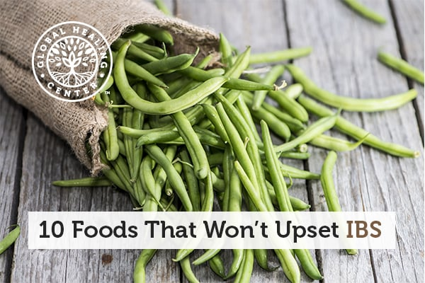 Foods like organic green beans and brown rice will not trigger your IBS.