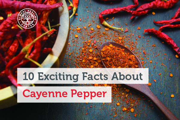 Cayenne pepper may offer protection against inflammation.