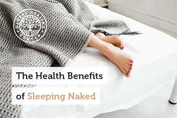 Quality sleep is one of many benefits of sleeping naked