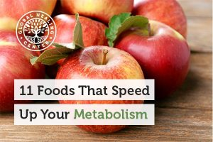Citrus fruits can help boost your metabolism.