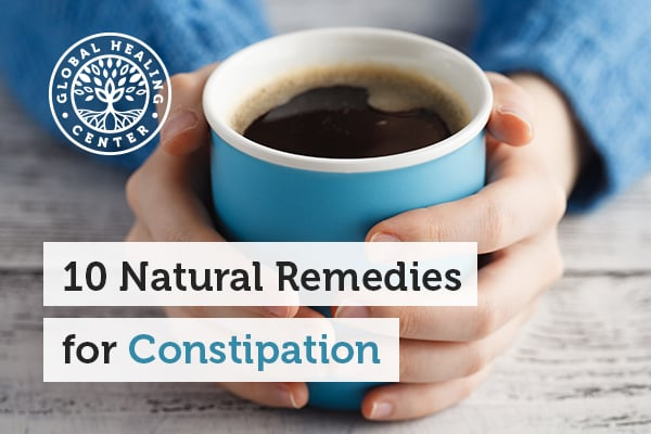 Foods like coffee and prunes are great natural remedies for constipation.