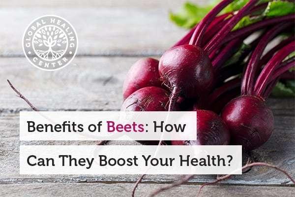Beets boast great health benefits.
