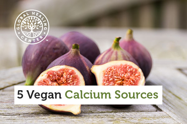 Fig is one of several vegan calcium sources.