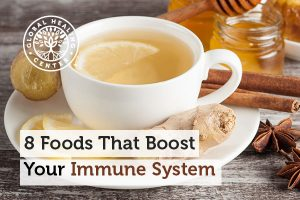 Ginger is one of many foods that can help boost your immune system.