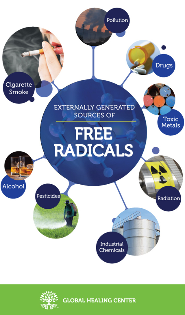 Externally Generated Sources of Free Radicals