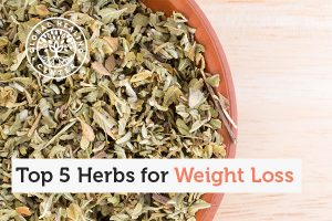 Particular herbs can help with weight loss.