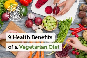 Having a vegetarian diet can help improve your mood.
