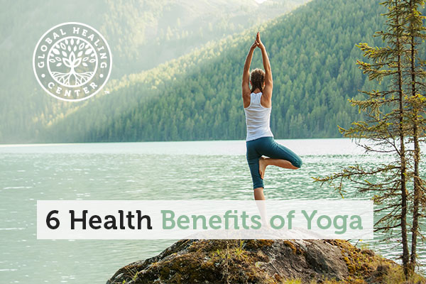 A Woman is doing yoga. Neurological support is one of many health benefits of yoga.