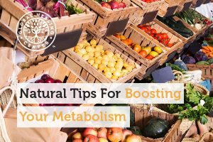 Fruits and vegetables can help boost your metabolism.