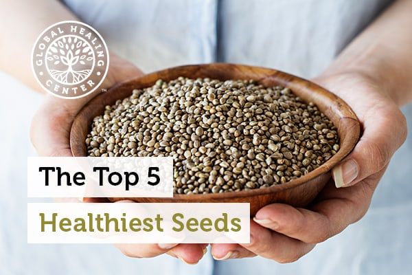 Chia seeds are one of the healthiest seeds you can eat.