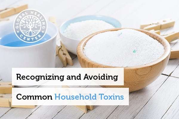 Laundry detergent can contribute to toxins in your household.
