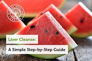 Fruits like watermelon are part of a liver cleanse.