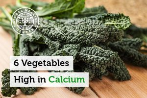 Kale is high in calcium