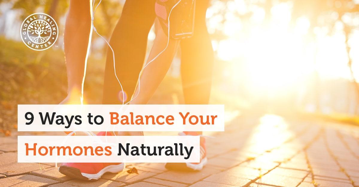 9 Ways to Balance Your Hormones Naturally