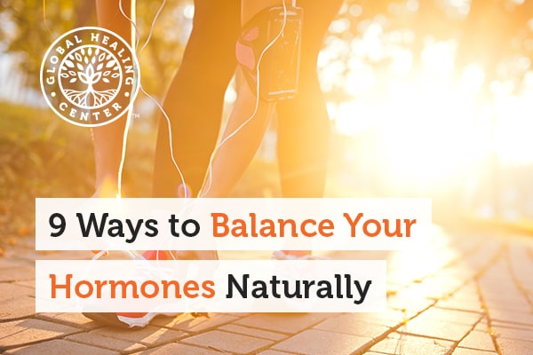 Frequent exercise is one of many ways to help balance your hormones naturally.