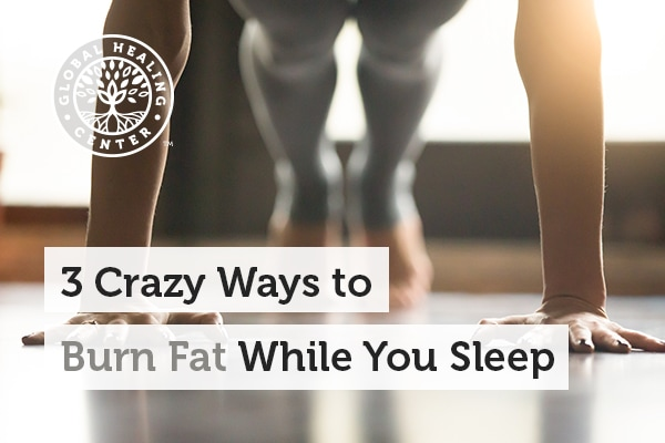 Exercise or drinking coffee can help burn fat while you sleep.