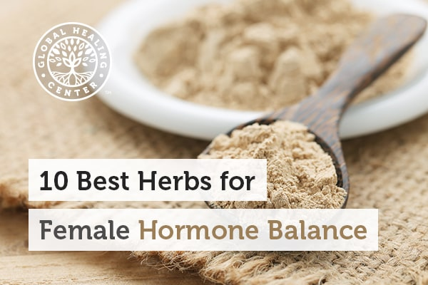 The maca herb can help with female hormone balance.