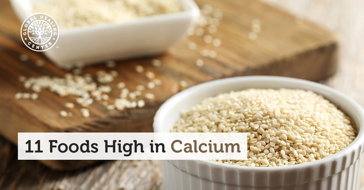 11 foods high in calcium