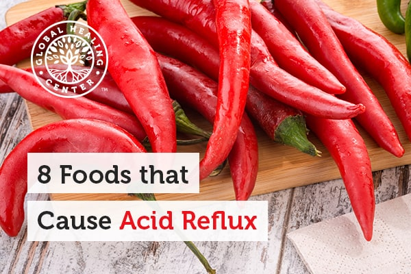 Hot and spicy foods are one of many foods that cause acid reflux.